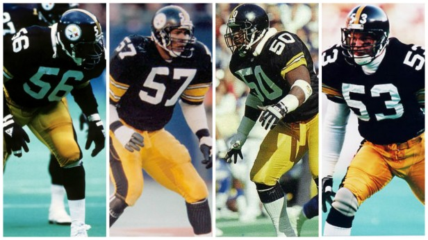 Mike Merriweather, Robin Cole, David Little, Bryan Hinkle, Steelers linebackers 1980's, Mike Merriweather's Steelers Career
