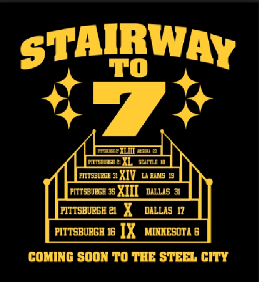 Steelers stairway to 7
