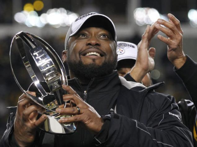 Steelers Mike Tomlin Super Bowl
