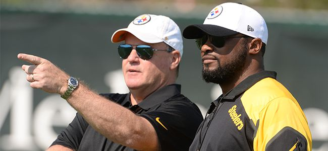 STEELERS TOMLIN AND COLBERT
