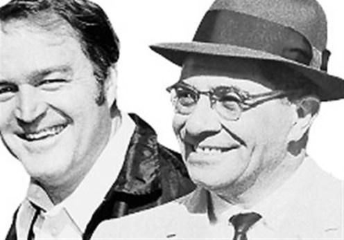 Chuck Noll y Vince Lombardi