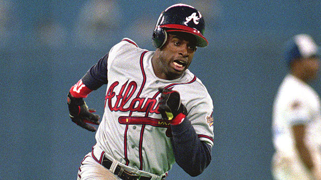 Deion Sanders in world series