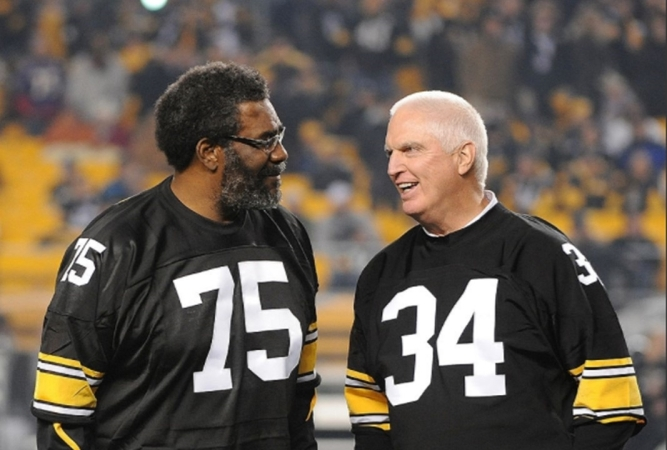 Joe greene y Andy russell