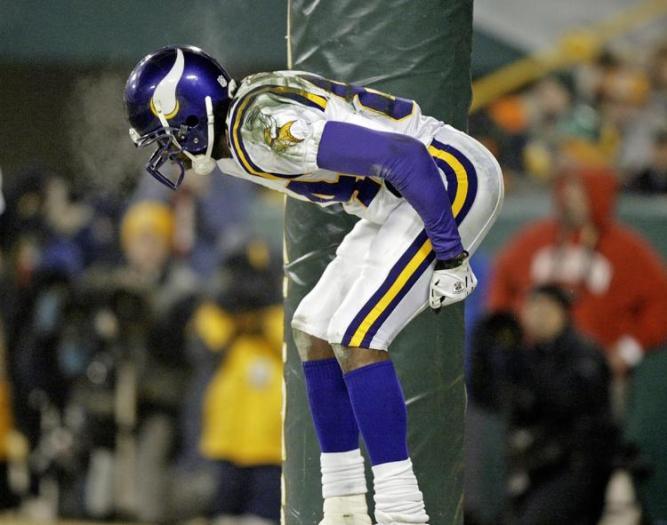 Moss se burla de los fans de Packers