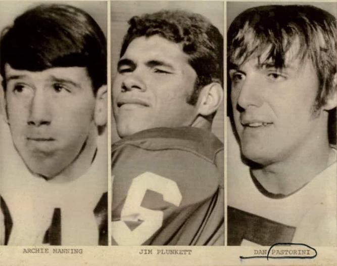 Jim Plunkett Archie Manning y Dan Pastorini