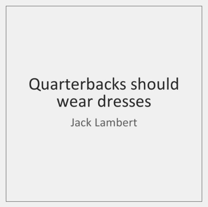 Lambert qb dresses